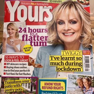 Yours Magazine cover image