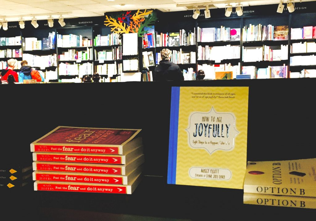 How to Age Joyfully sold in all good bookshops